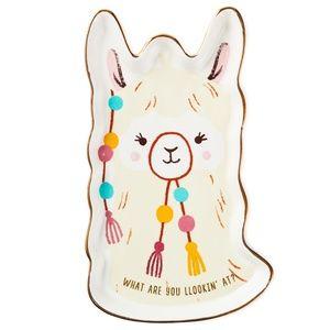 🎉HOST PICK🎉 Llama Ceramic Trinket Tray